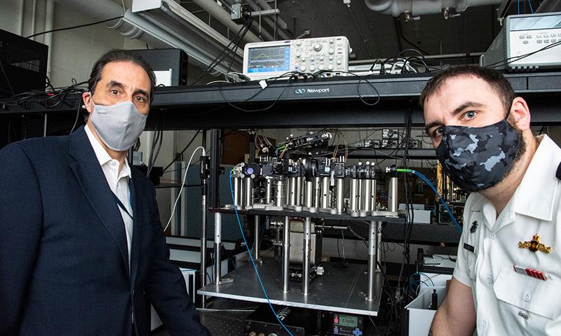 NPS Professor Advancing Quantum Technology for Navy Applications