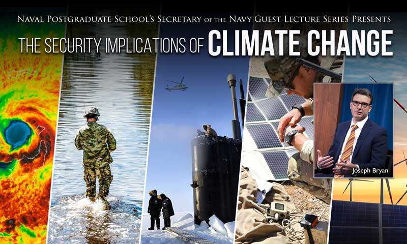 Pentagon's Senior Climate Advisor Delivers Talk on Security, Climate Change in Latest SGL