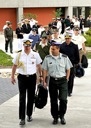 Students at the Naval Postgraduate School
