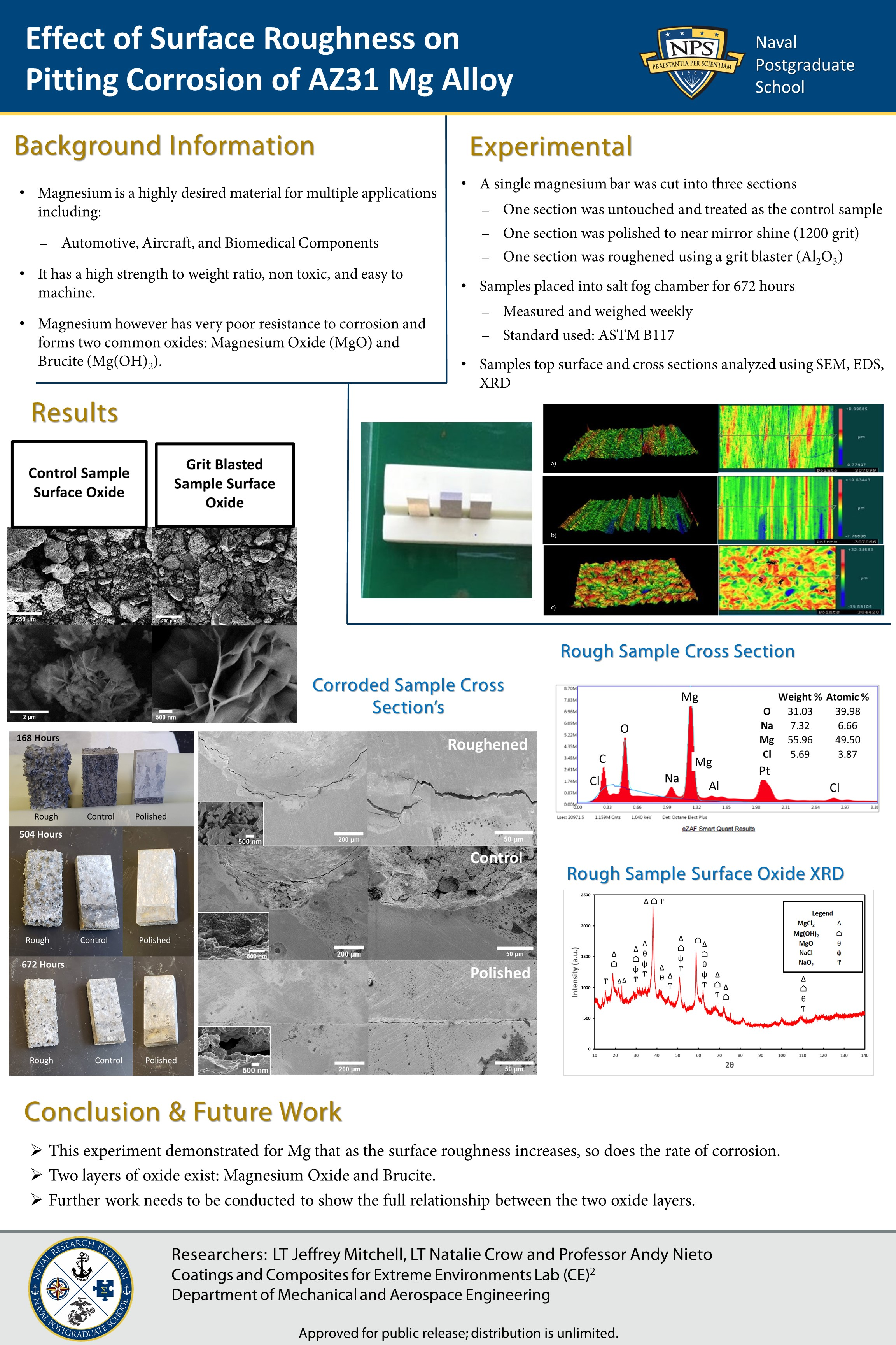 Effect of Surface Roughness on Pitting Corrosion of AZ31 Mg Alloy