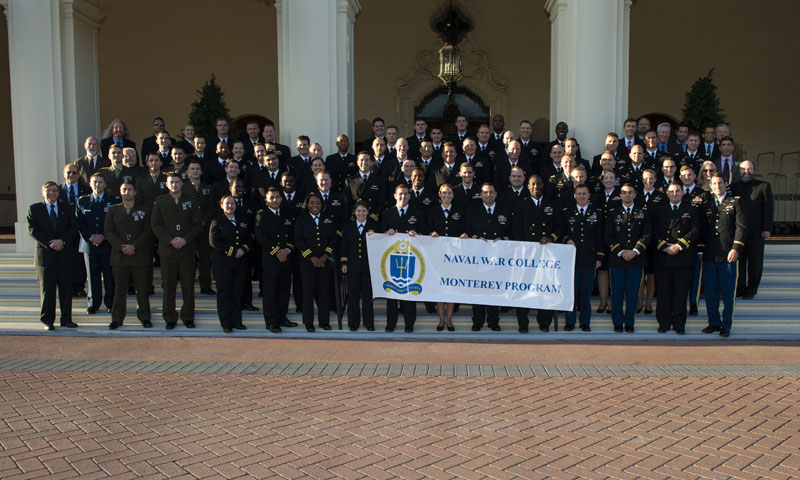 Naval War College at NPS Celebrates 77th Graduating Class