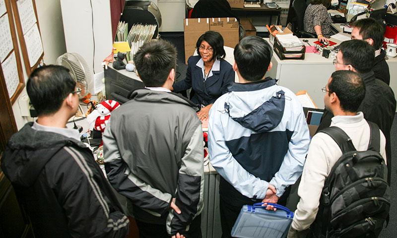 International Office Bids Farewell to Stellar Co-Worker