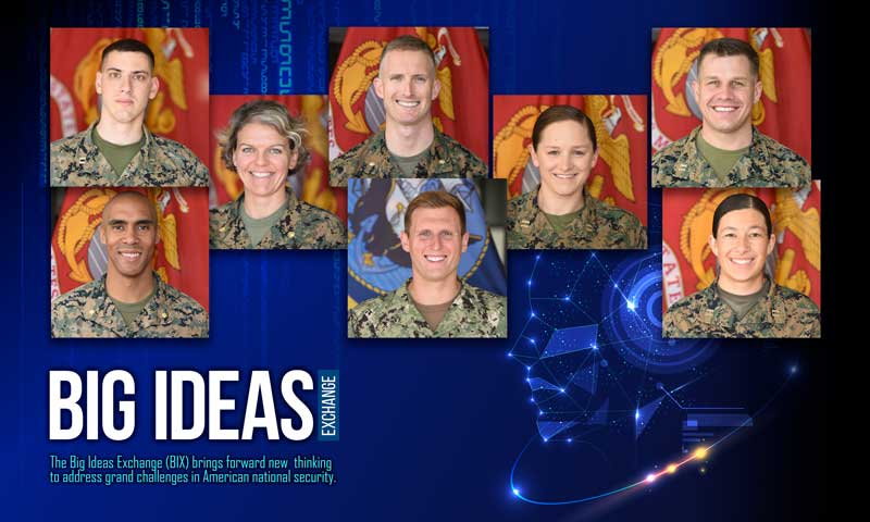 Students Across Navy's Educational Enterprise Exchange Big Ideas