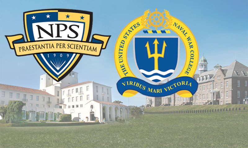 NWC-at-NPS Awards Academic Honors for Spring Quarter Class