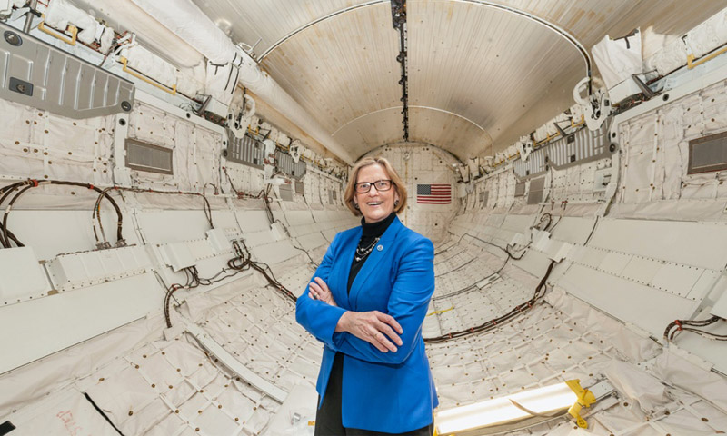 First American Woman to Walk in Space and Dive the Deepest Ocean to Lecture at NPS Ahead of Women's Suffrage 100th Anniversary