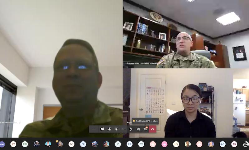 Senior Army Acquisitions Alumnus Returns for Virtual VIP Lecture