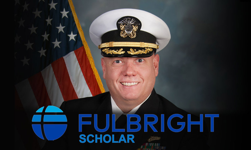 NPS Military Professor Selected for Prestigious Fulbright Scholar Program