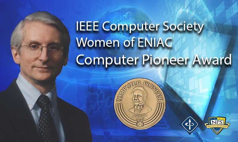 NPS' Peter Denning Adds Computer Pioneer Award to Long List of Honors