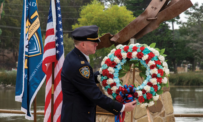 NPS Honors Victims, First Responders, Service Members at 9/11 Remembrance Ceremony
