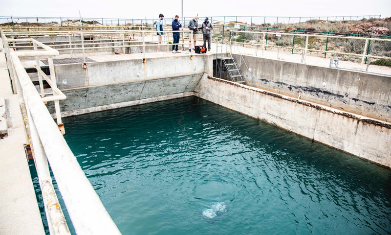 NPS Refurbishes Old Wastewater Plant into a Lab for Defense Tech