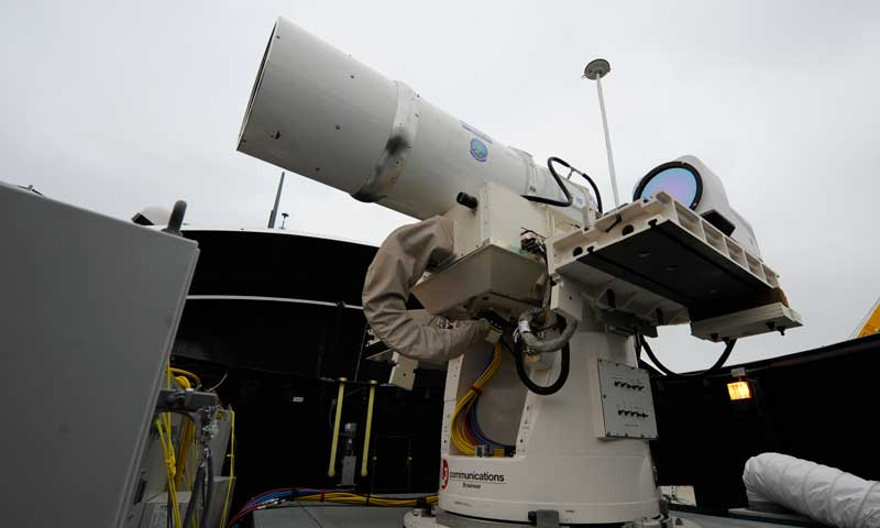 NPS Hosts High-Energy Laser Working Group to Address DOD Domain Needs