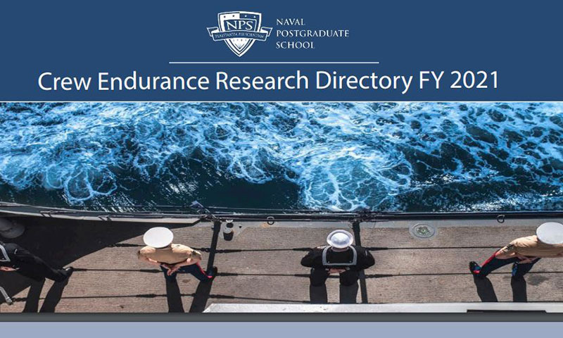 Crew Endurance Team Launches FY2021 Research Directory